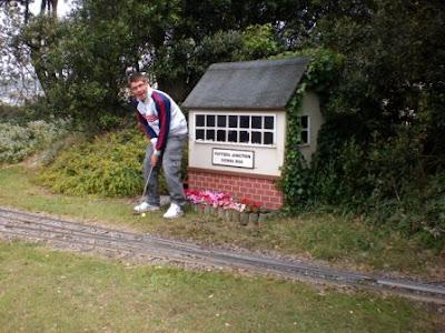 Weston Miniature Railway in Weston-Super-Mare