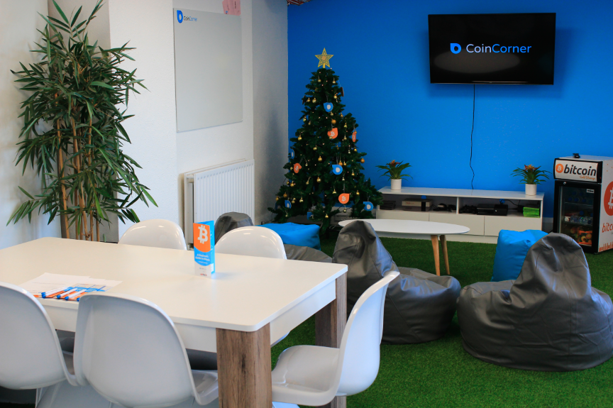 CoinCorner office