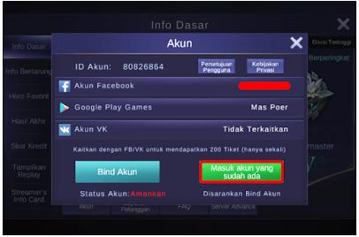 Cara Main 2 Akun Mobile Legends di 1 HP Android/iOS 100% Work