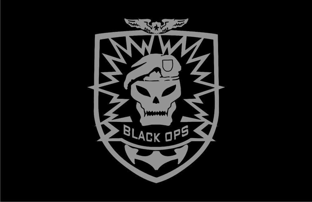 Call Of Duty Black Ops Logo Vector Game