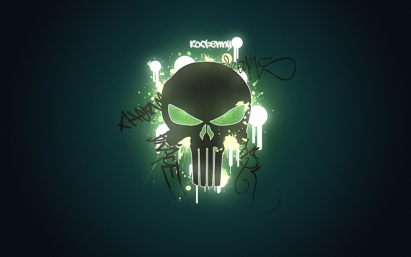 Incredible Neon Skull Wallpaper: Clickandseeworld Is All About Funny
