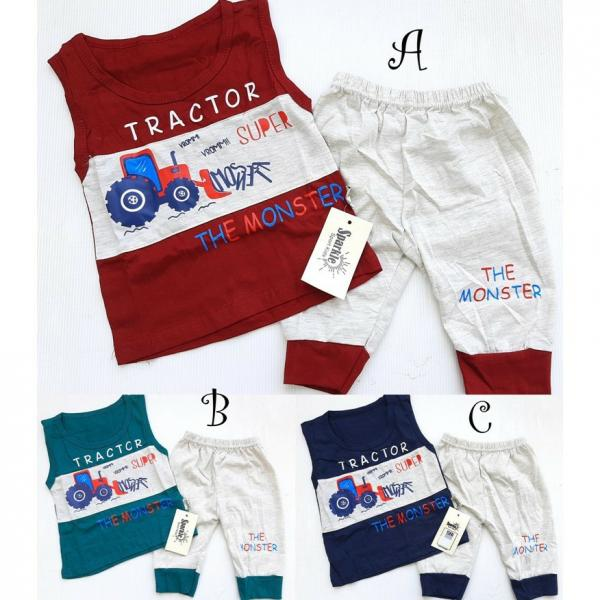 Setelan Baju Branded Bayi atau Anak Cowok FA-157