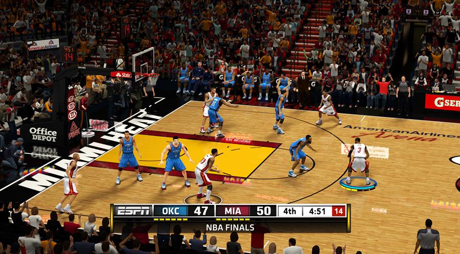 NBA 2K13 ESPN TV Scoreboard Mod v5 (Final) - NBA2K.ORG