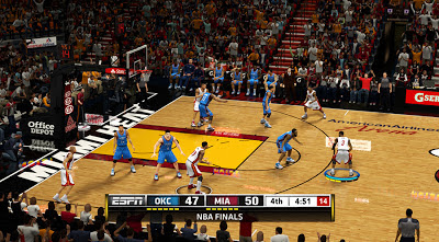 NBA 2K13 Finals ESPN Scoreboard Patch