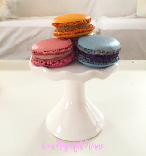 French macarons St. Roger Abbey Chicago