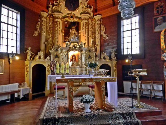 kościół w Obrze