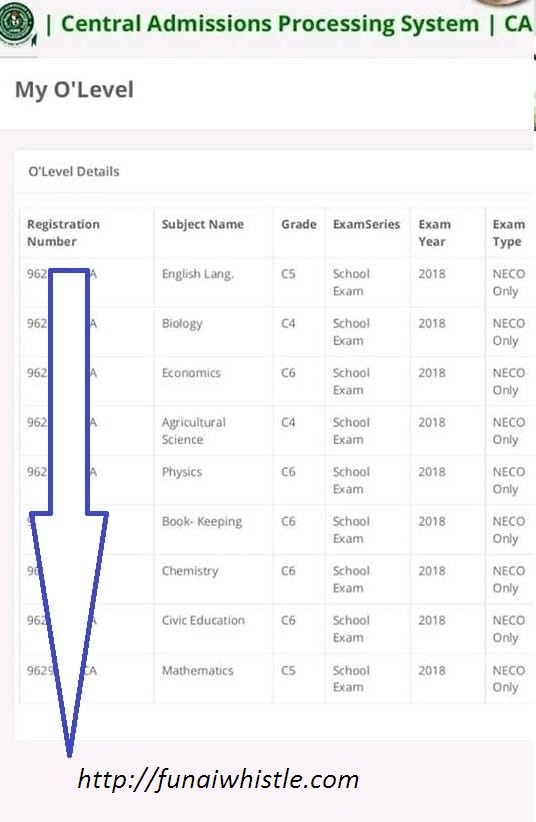 The most effective method to check if your O'level Result has been Uploaded on JAMB CAPS Portal [UPDATED]