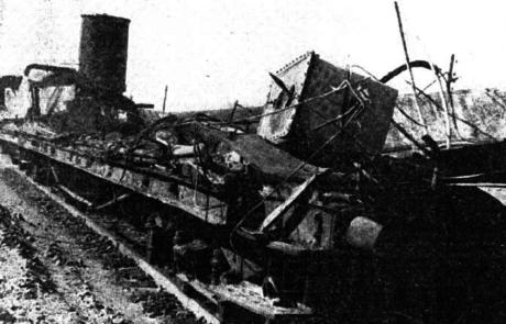 Accidente ferroviario de Grisén (Zaragoza) en 1965.