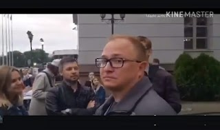 """""""А ось пропаг@ндони приїхали в Білорусь!"""" – Як російських журналістів зустрічали у Мінську. Відео!"""