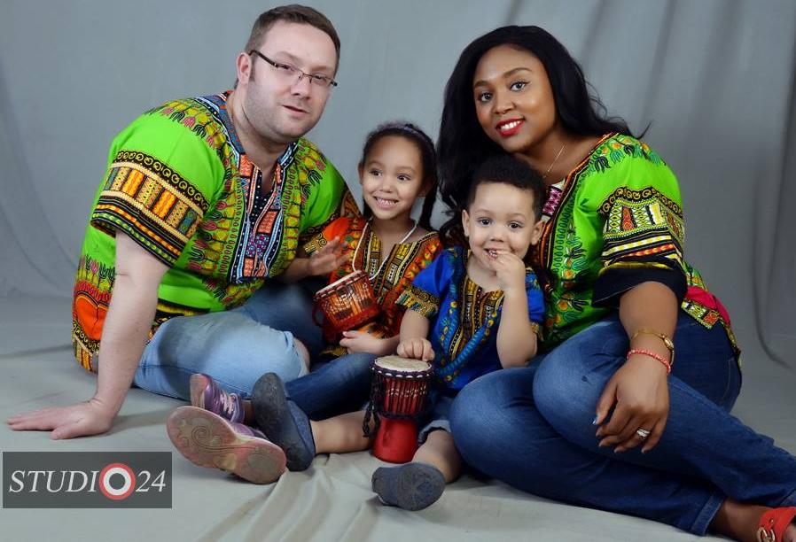Nigerian women and white men