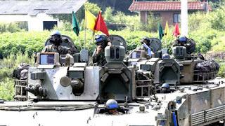 Korea Selatan:Korea Selatan ancam bumihanguskan Pyongyang