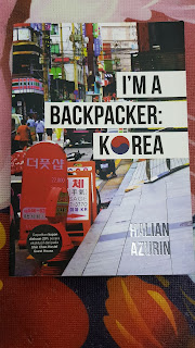 buku, buku travel, i'am a backpacker korea
