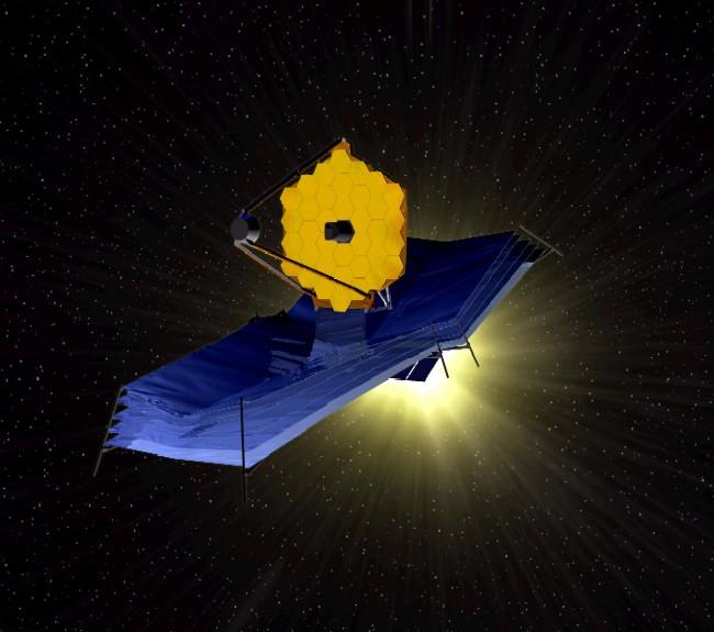 고든의 블로그 구글 분점: 차세대 우주 망원경이 온다 - 제임스 웹 우주 망원경