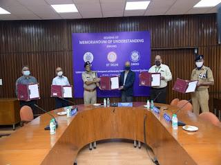 CRPF Partners with IIT Delhi, DRDO and JATC