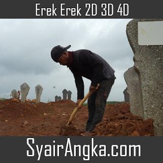 Erek Erek Tukang Gali Kubur 2D 3D 4D