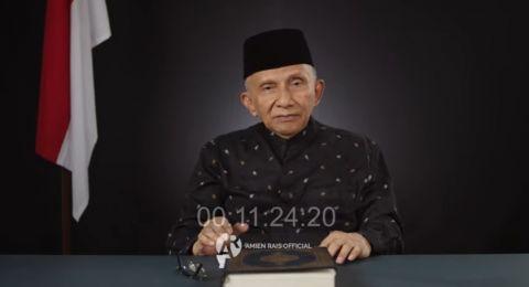 Amien Rais Nyatakan Sidang Habib Rizieq Melanggar HAM!