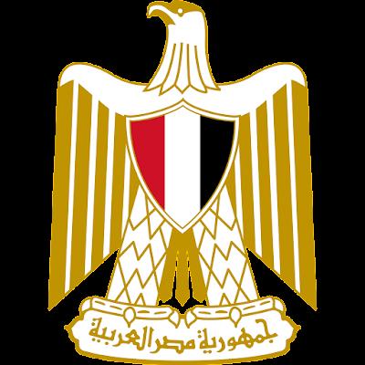 Coat of arms - Flags - Emblem - Logo Gambar Lambang, Simbol, Bendera Negara Mesir