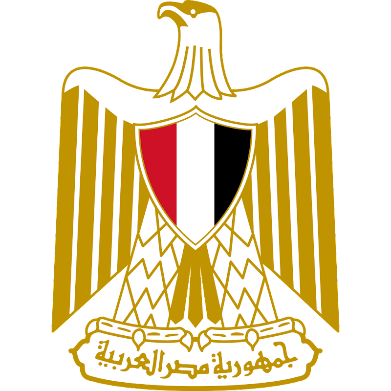 Logo Gambar Lambang Simbol Negara Mesir PNG JPG ukuran 800 px