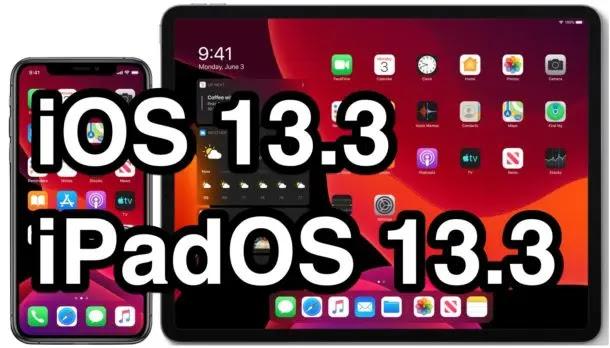 أصدرت Apple تحديث iOS 13.3 و iPadOS 13.3