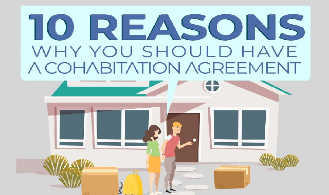 10 Reasons Why You Should Have A Cohabitation Agreement #infographic