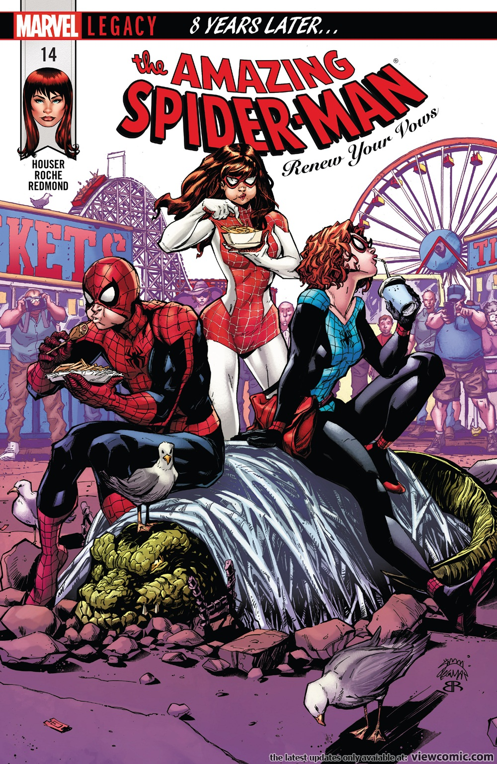 amazing spider man renew your vows v2 014 2018 reading comics