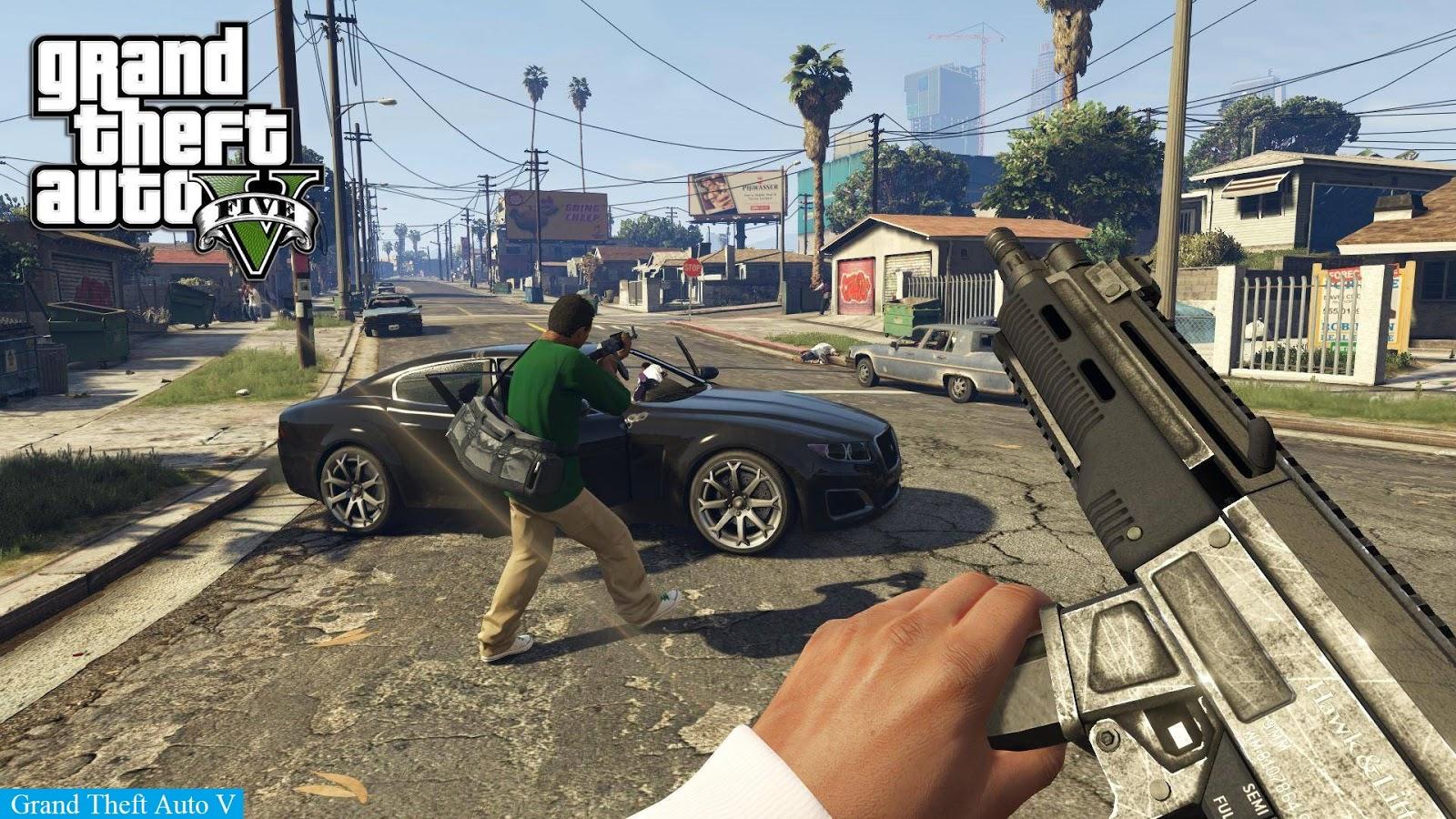 تحميل لعبه Grand Theft Auto V Free Download For Pc Games