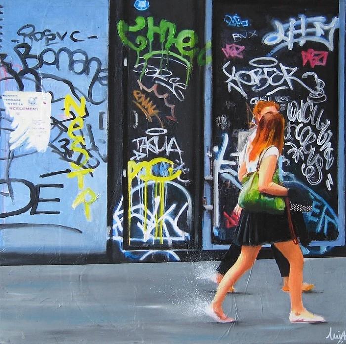 Французский художник. Emilie Pannier