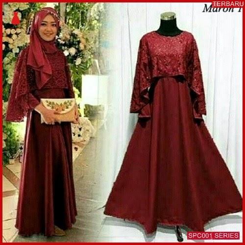 SCP001O47 Olivia Syari Pesta Gaun Dress Muslim Wanita | BMGShop