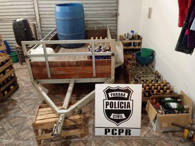 Polícia fecha fábrica clandestina de bebidas em Colombo