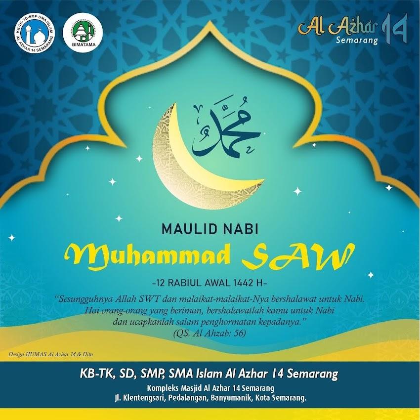MEMPERINGGATI MAULID NABI MUHAMMAD SAW DI TK ISLAM AL AZHAR 14 SEMARANG