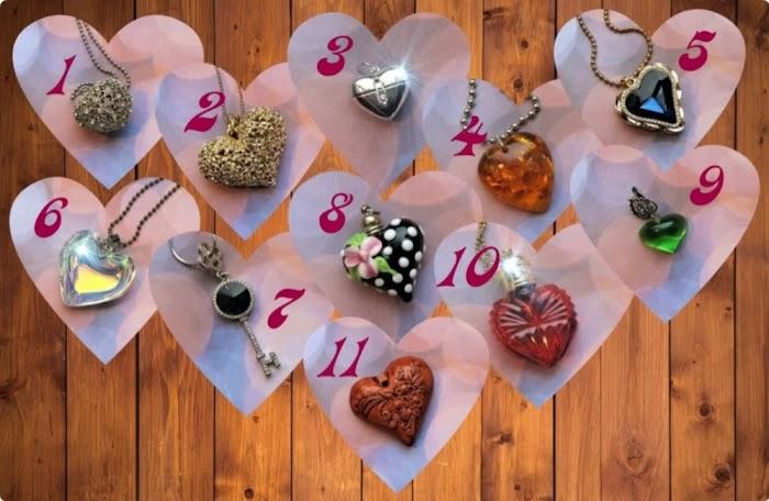 """Оракул """"Ключи от сердец"""" - выберите нужный для загаданного сердца"""