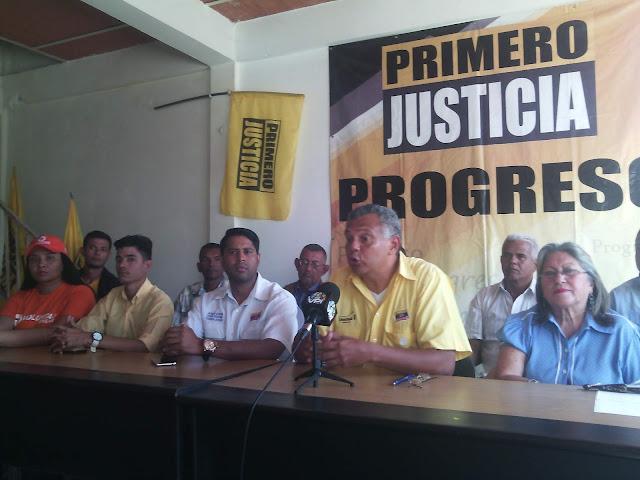 APURE: Dirigencia de Primero Justicia y partidos opositores condenaron  intervención de finca del diputado Lippa.