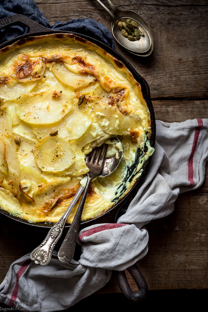 HEARTY potato dauphinoise is an ideal side dish for thanksgiving, easter and christmas