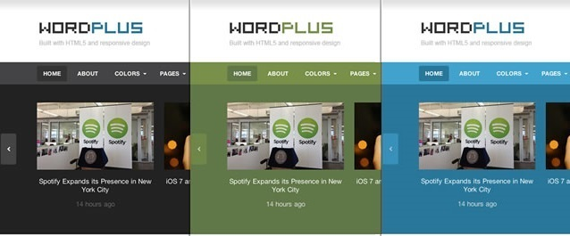 WordPlus in different colors