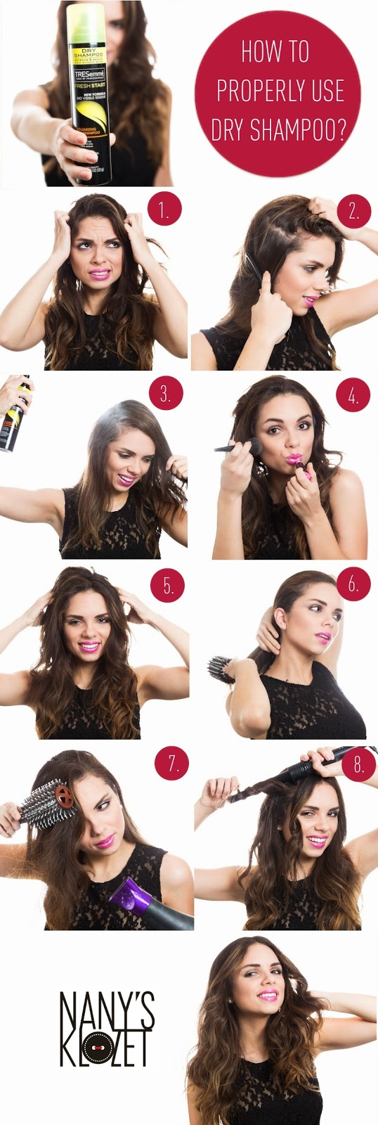 How to Use Dry Shampoo Properly