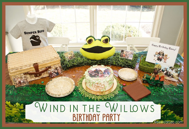 photo Wind In THe Willows Birthday Party
