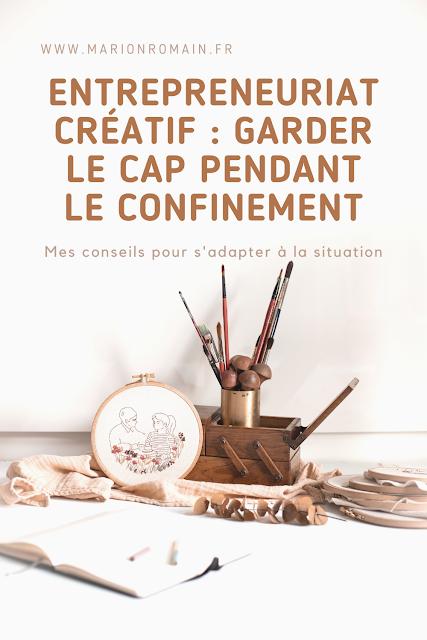 entrepreneuriat créatif : garder le cap
