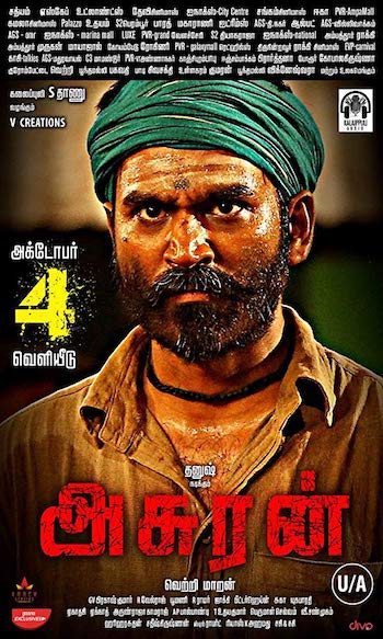 Asuran 2019 Full Tamil Movie Download HDRip 400MB 480p ESub bolly4ufree