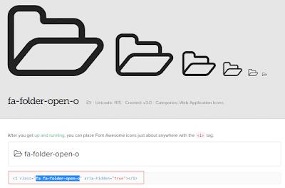 Cara Menambahkan Icon Di Menu Blog 100% Work