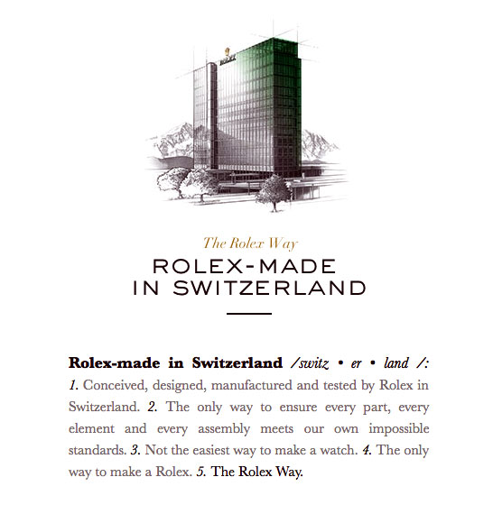As the Rolex Brand Goes Unchanging Its Way