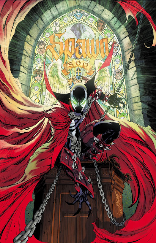 SPAWN #300 J. Scott Campbell Cover Revealed