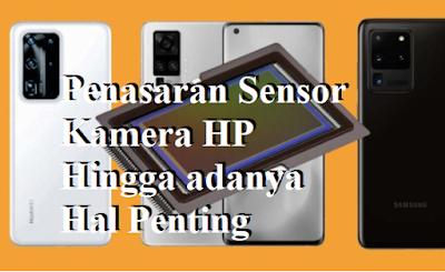Penasaran Sensor Kamera HP Hingga adanya Hal Penting