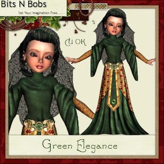 CU Green Elegance freebie