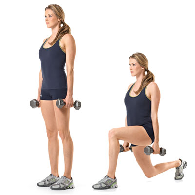 Runner in the Real World Dumbbells and Stability Ball