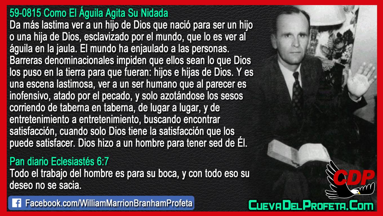Esclavizado por el mundo - William Branham en Español