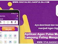 Aplikasi Agen Pulsa Murah Lampung Paling Menguntungkan