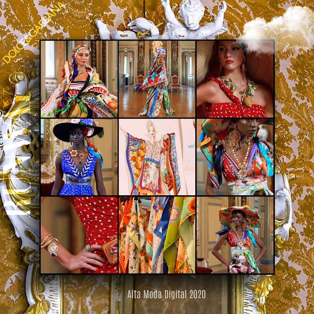 Dolce Gabbana Alta Moda 2020 Digital - Autunno-Inverno 2020-2021 di RUNWAY MAGAZINE