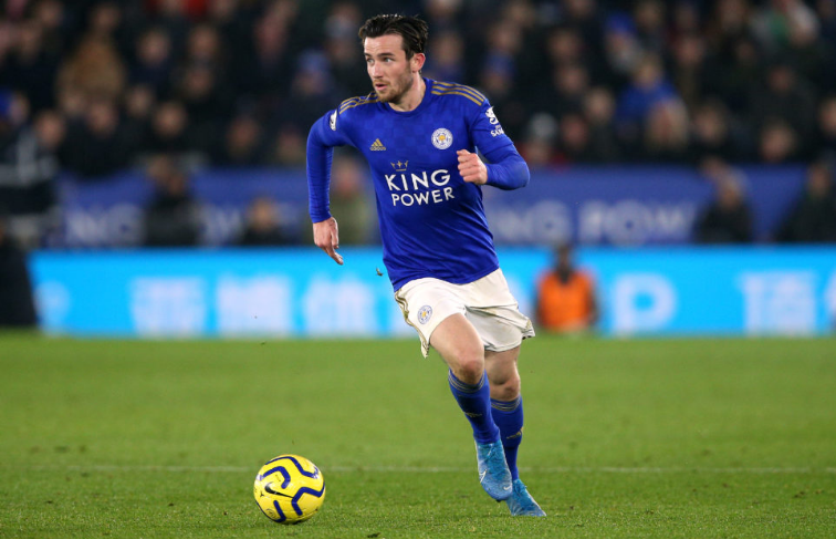 Ben Chilwell in action against Liverpool