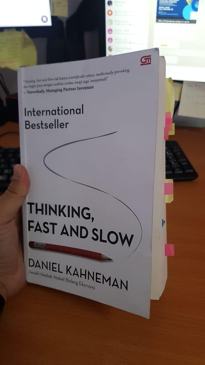 Review Buku Thinking Fast and Slow - Daniel Kahneman