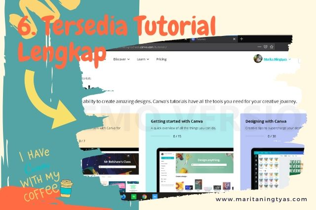 cara membuat infografis blog di canva tersedia tutorial video